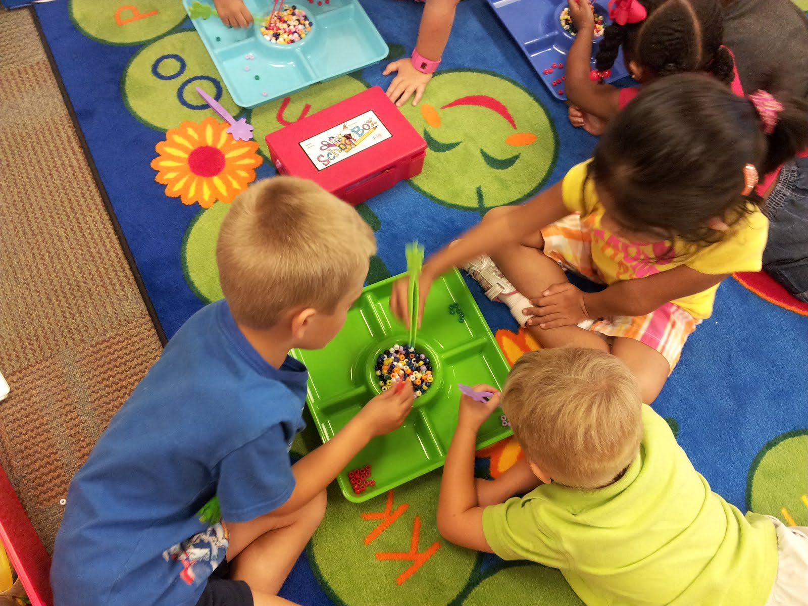 The Crazy Pre K Classroom Color Sorting And Fine Motor