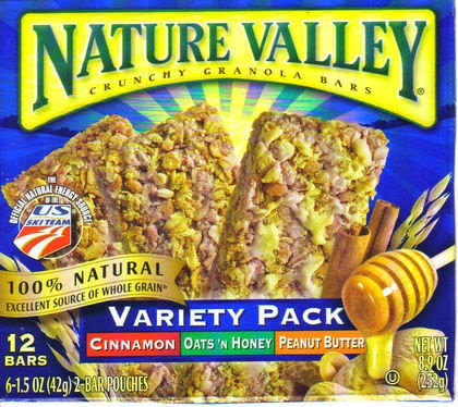 Healthy Nature Valley Granola Bars: Are Nature Valley