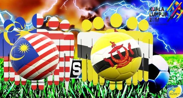 Live Streaming Malaysia vs Brunei 14 Ogos 2017 Sukan SEA KL