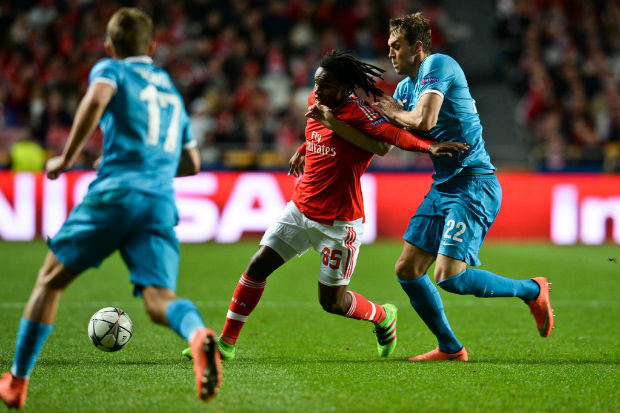 Benfica s'impose 1-0 contre le Zenit en Ligue des Champion