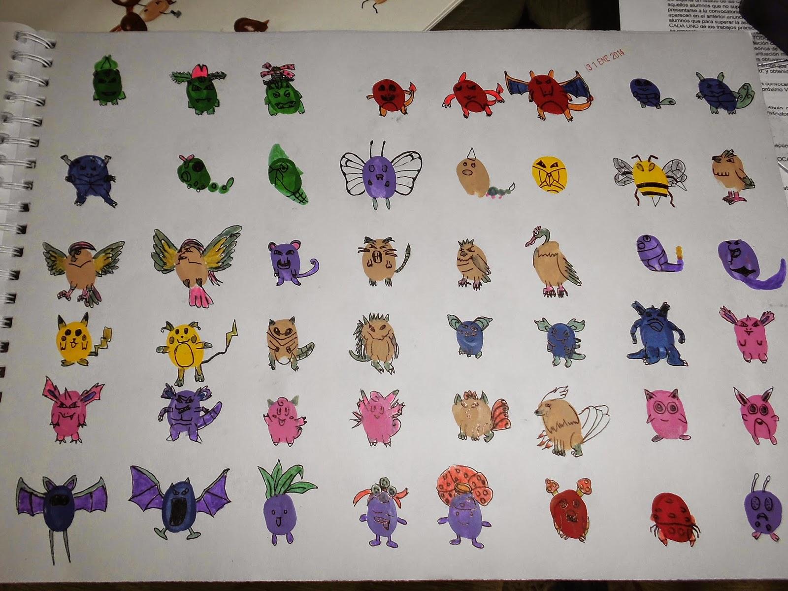 Dibujos De Pokemon A Color: Resultado De Imagen Para Dibujo De Pokemon A Color Decoracion