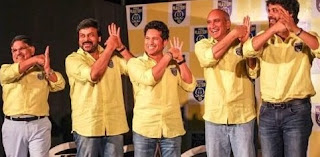 Celebs At Kerala Blasters Launch Photos