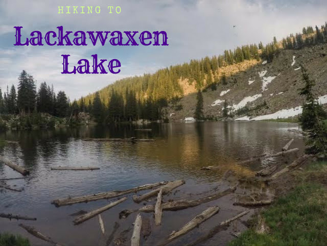 Hiking to Lackawaxen Lake