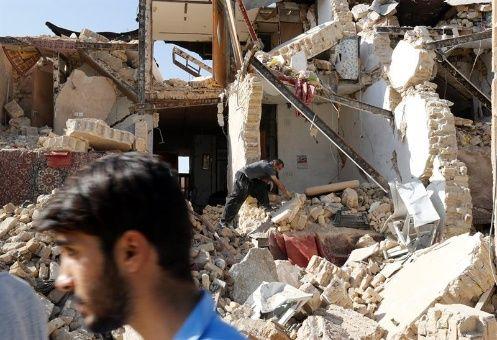 EE.UU. bloquea ayuda a afectados por el terremoto de Irán