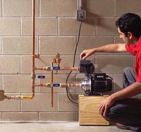 Boost low water pressure in your home