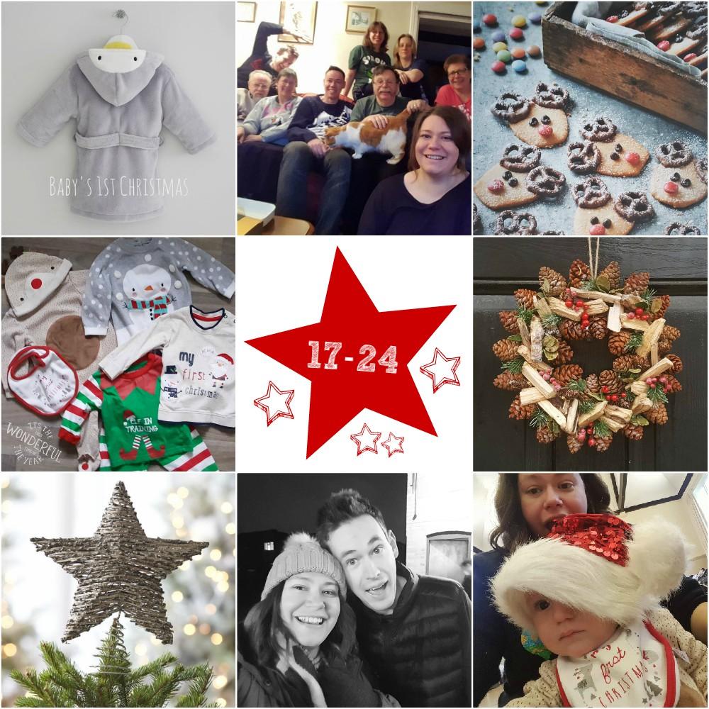 #25daysofchristmas - Days 17-24