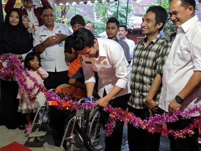 Bupati Trenggalek Launching Panti Pijat Tuna Netra dan 55 Usaha Produktif Penyandang Disabilitas