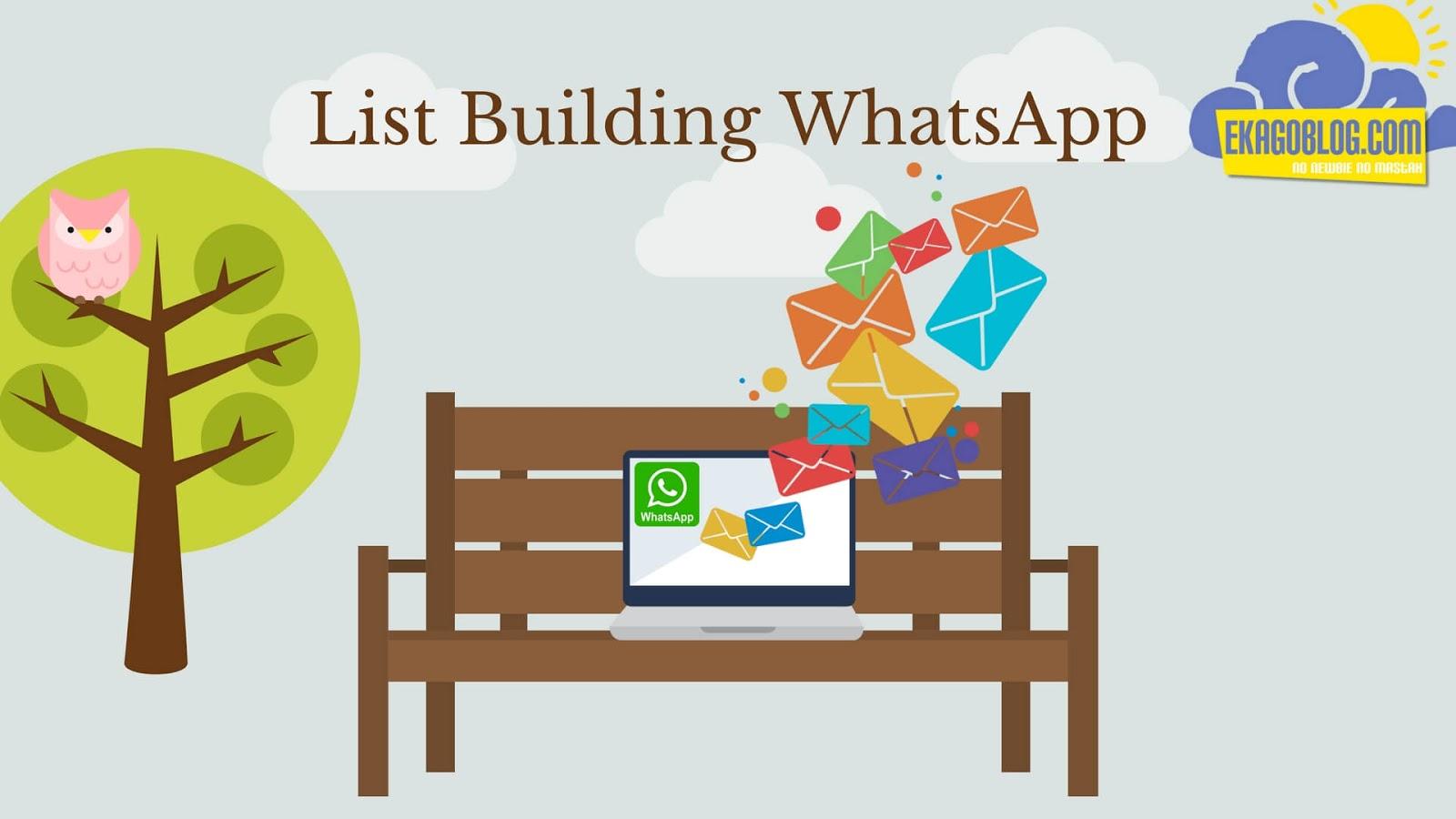 5 Langkah Mudah List Building WHATSAPP