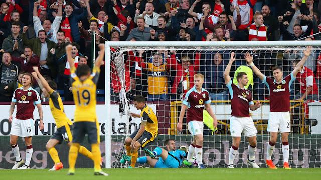 Arsenal – Burnley  cái kết bất ngờ phút bù giờ