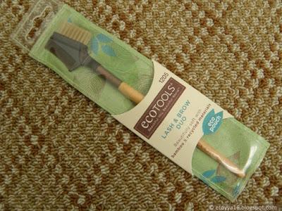 Щёточка для ресниц и бровей EcoTools, Bamboo Lash & Brow Groomer