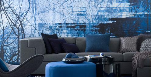 Interieurinspiratie blauw  Designaresse