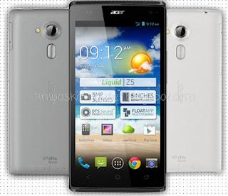 Acer Z150 Liquid Z5 handphone android 1 jutaan yang bagus