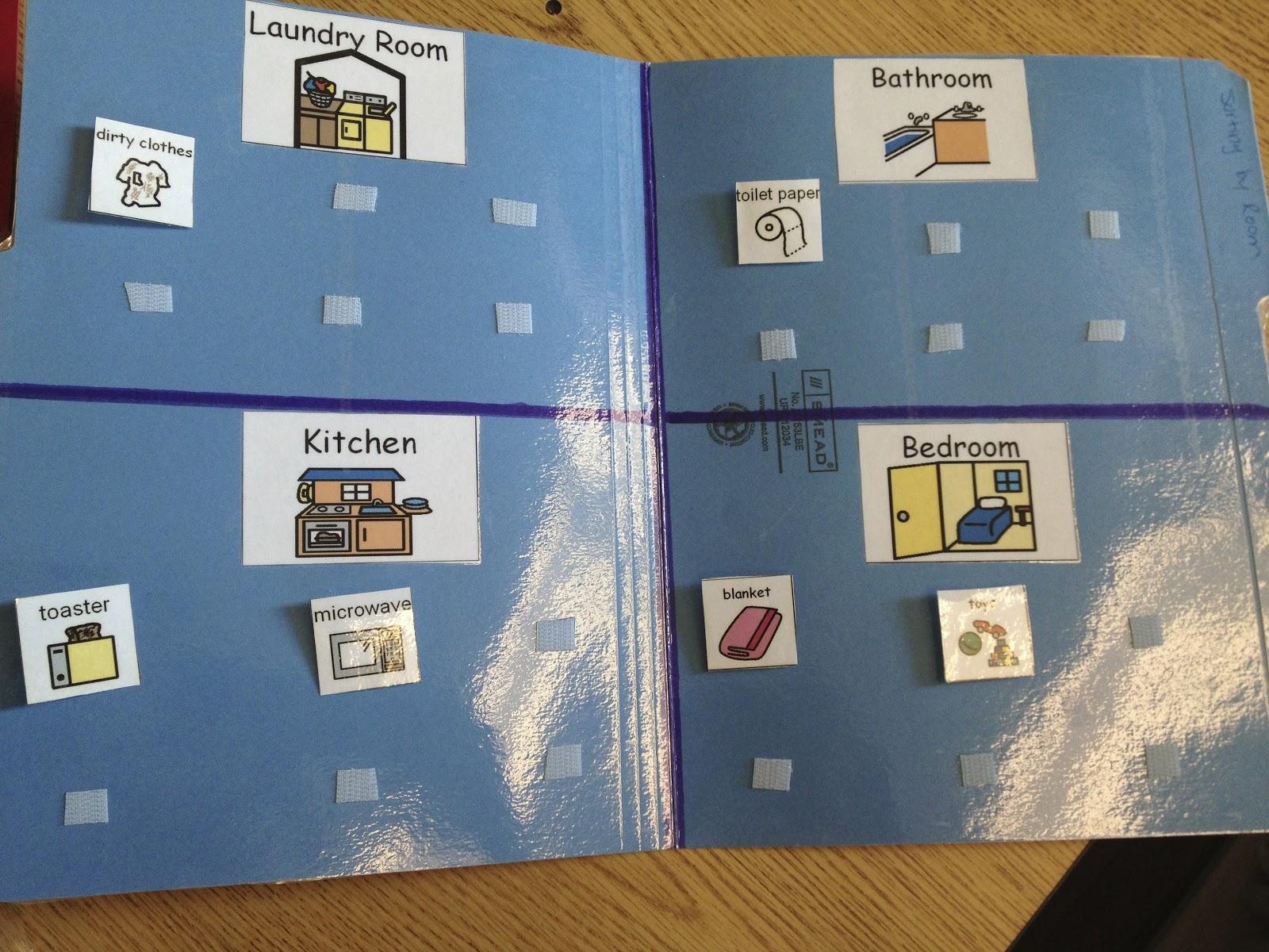 Autism Tank More Advanced Sorting File Folders