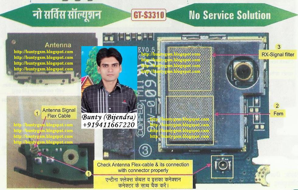Samsung S3310 No Service Solution By Buntygsm Mobile