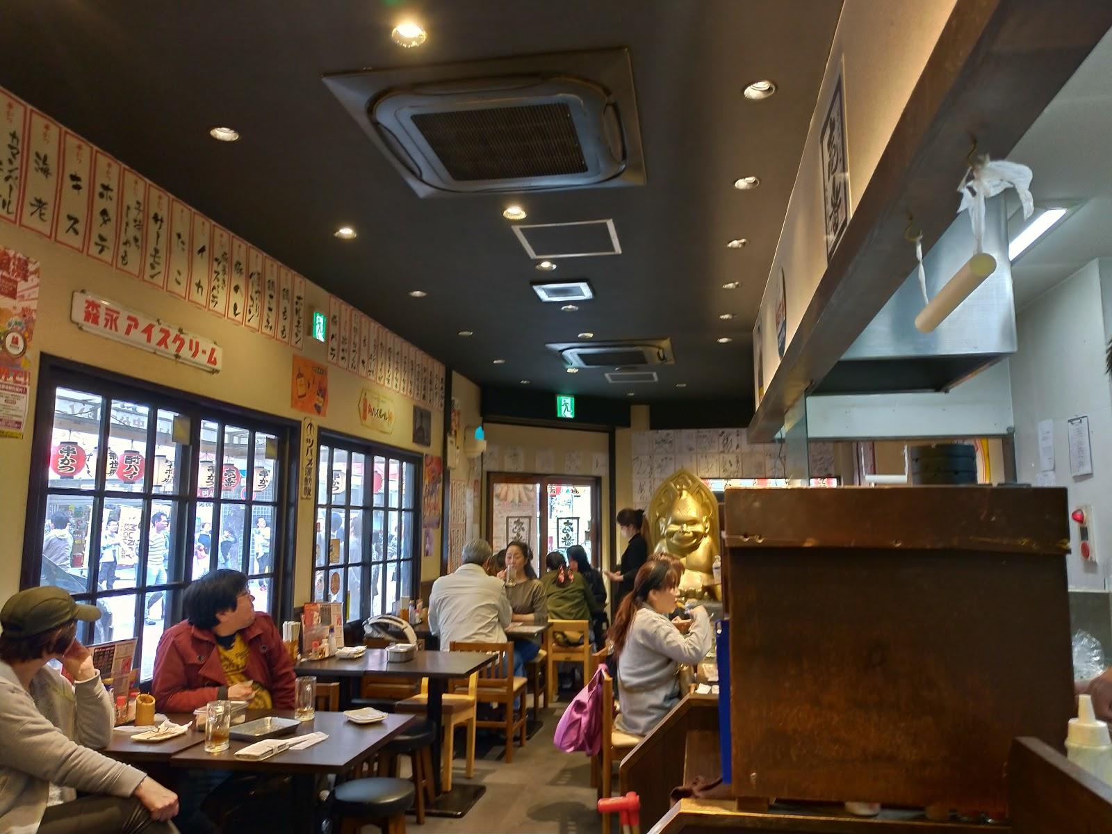 店内の様子串かつ・どて焼き壱番の元祖串かつがおすすめだったのでご紹介します!