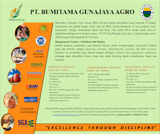 Bumitama Gunajaya Agro Group (BGA Group)