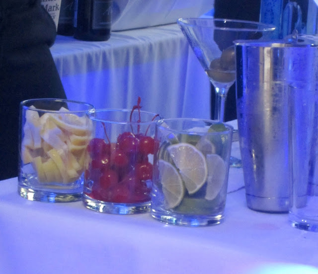 Shane Co Sapphire Event Cocktails