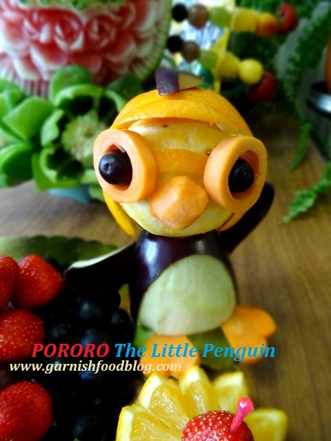 fruit display pororo