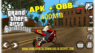 Grand Theft Auto San Andreas highly compressed 400mb Apk Data Full Game download