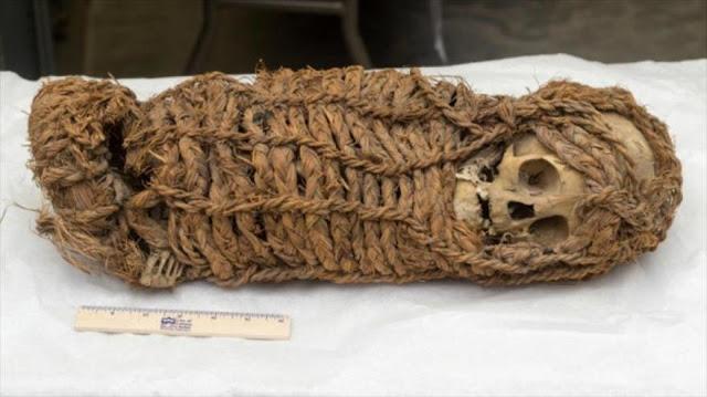 Perú recupera momia de una niña de 2000 años de antigüedad