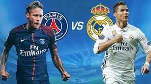 PSG vs Real Madrid 2018 live stream info