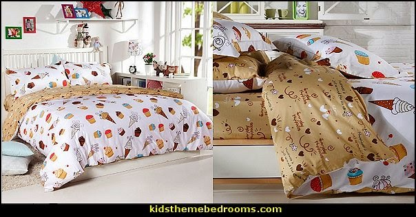 Chocolate Dessert Cake Duvet Cover Sets
