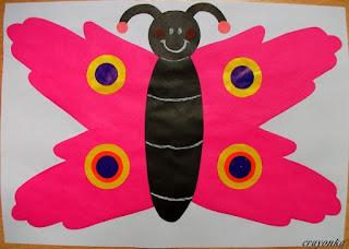 Motyl ze skrzydłami w kształcie dłoni