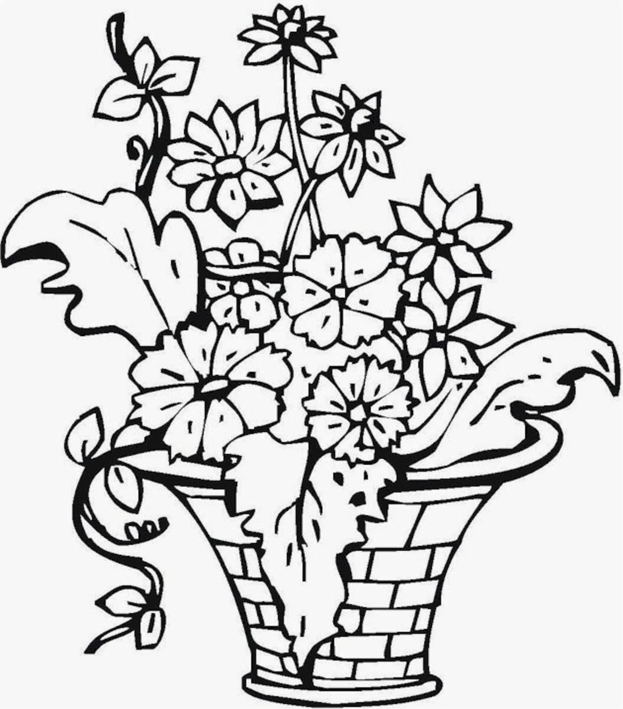 Colours Drawing Wallpaper Best And Beautiful Flowers