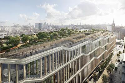 1 - Google unveils plans for its new £1billion London based Headquarters (photos)