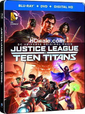 Justice League vs Teen Titans Full Movie Download (2016) BluRay