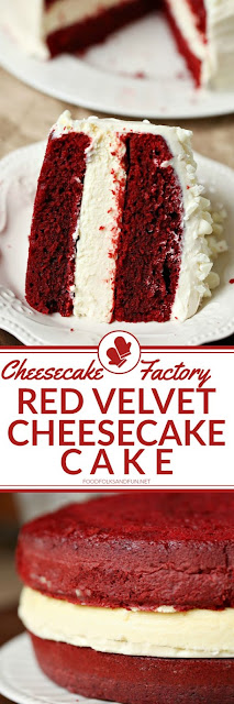 Cheesecake Factory Red Velvet Cheesecake Cake