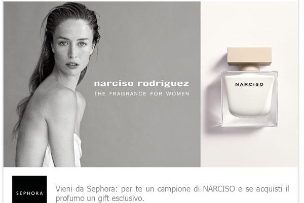 profumo da donna Narciso Rodriguez