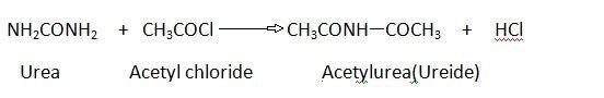 Urea Acetylation.