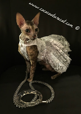 Coco Cornish Rex Couture Party Dress NYC