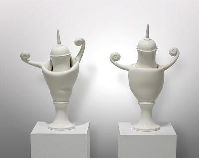 Esculturas espectaculares de porcelana