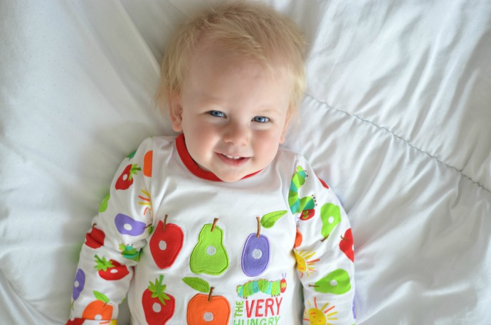 Very Hungry Caterpillar baby grow