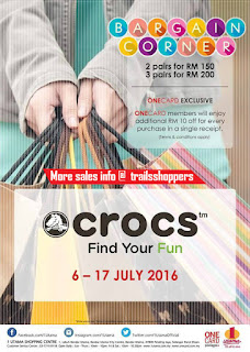 Crocs Promotion Bargain Corner 2016