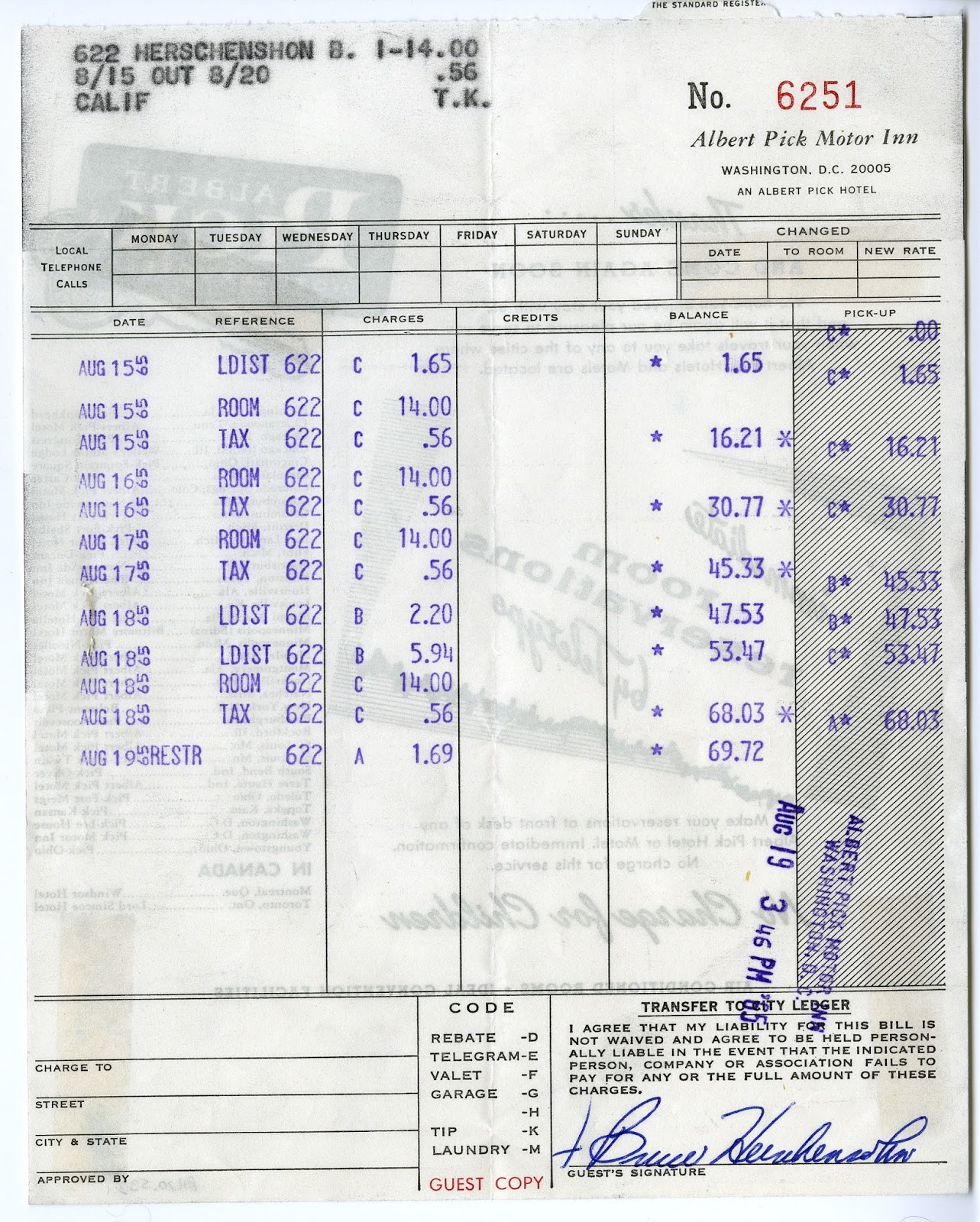 The Cardboard America Motel Archive: Albert Pick Motor Inn