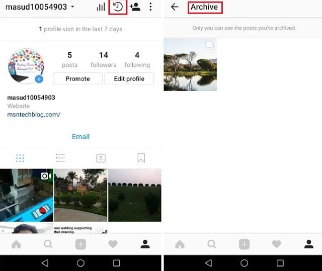 Cara Melihat Instagram Stories etelah 24 jam dan Recover Expired Stories 5
