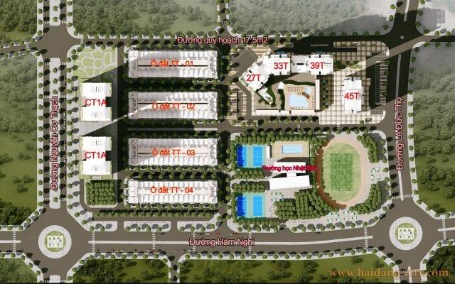 Tổng thể dự án HD Mon City