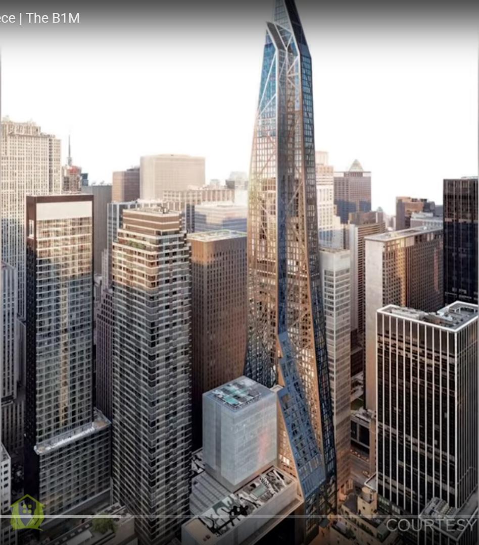 Nhà chọc trời siêu nhỏ- super skinny tower