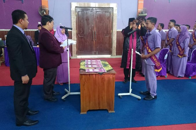 Prodi Profesi Ners Selenggarakan Angkat Sumpah Perawat Angkatan ke 2