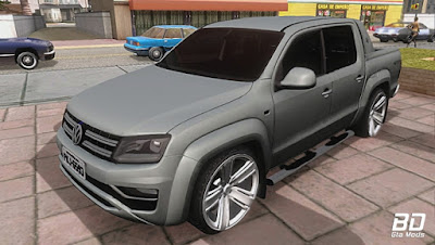 Download , Mod , Carro , Volkswagen Amarok Highline Extreme 2017 2.0 TDI 180 CV para GTA San Andreas, GTA SA , Jogo PC