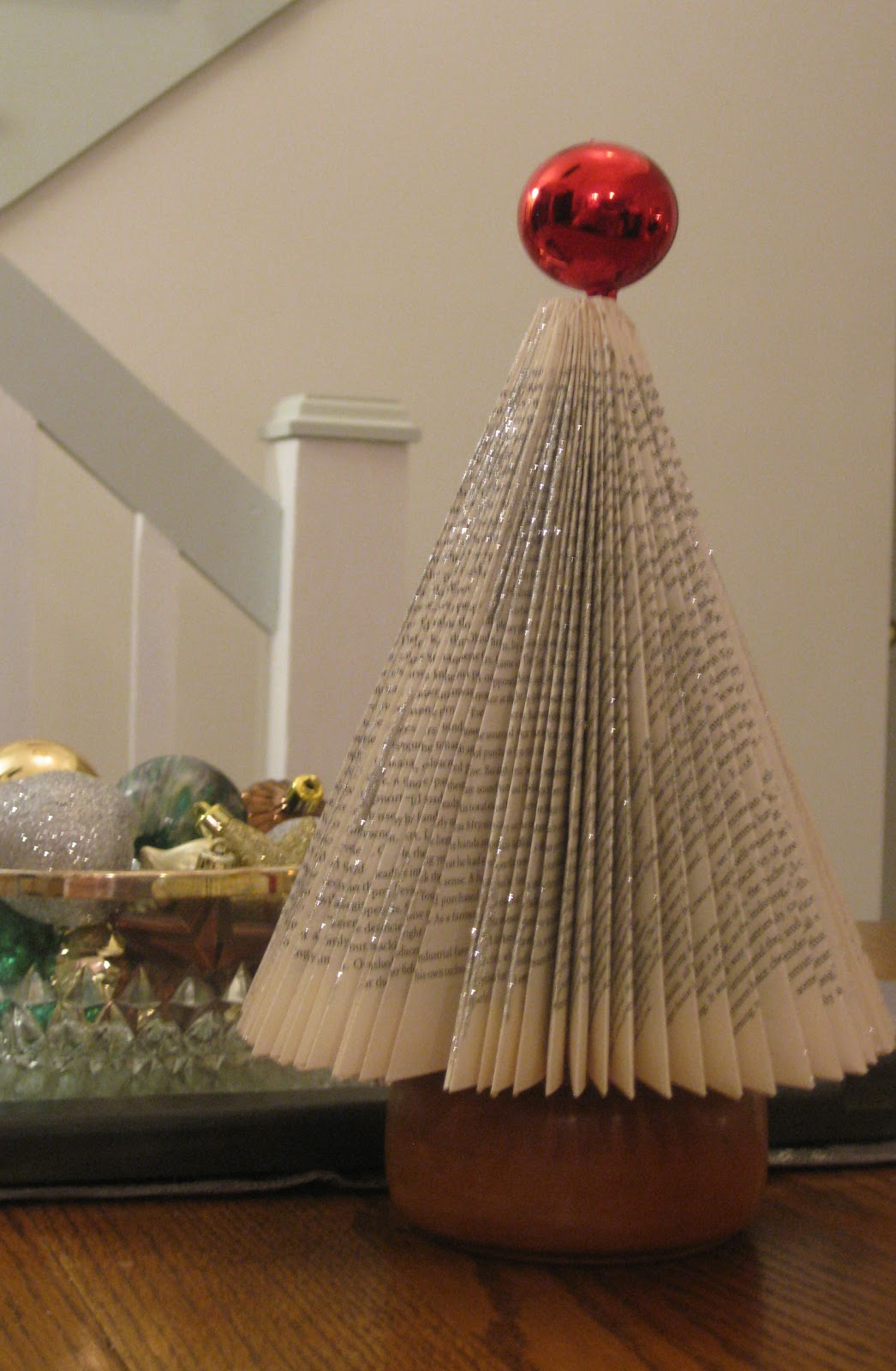 Of Sage and Sepia: Making Christmas Trees From Books