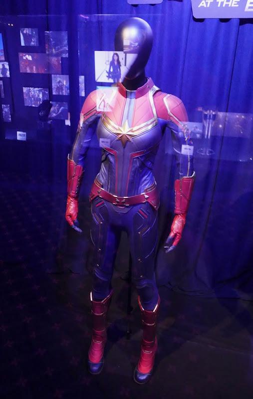 Brie Larson Avengers Endgame Captain Marvel costume