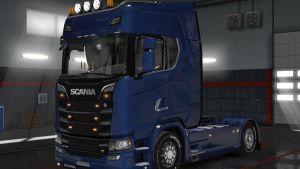 Truck - Scania S Series + Interior v 1.0