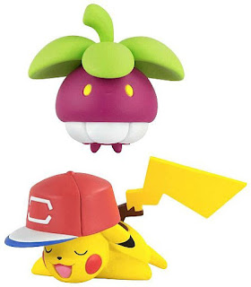 Bounsweet figure Tomy US Pokemon Battle Action Figure Set