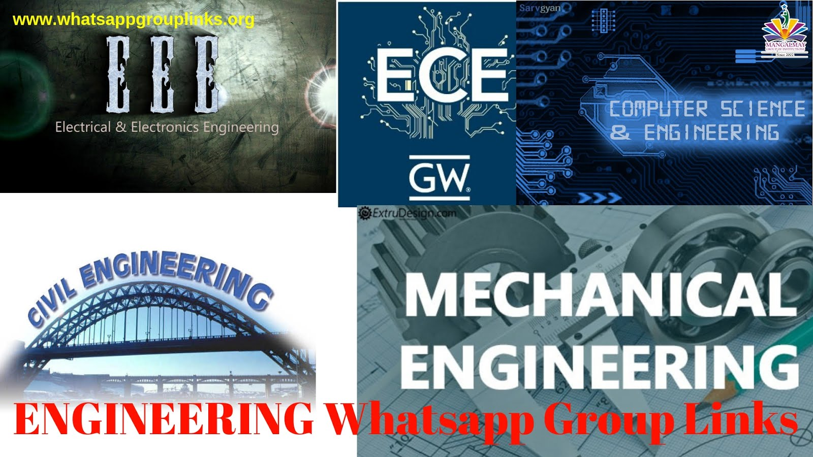 Join Engineering Whatsapp Group Links List - Whatsapp Group Links