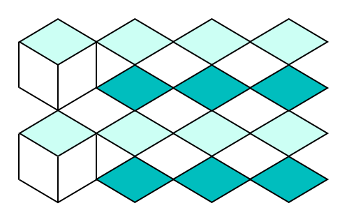 Isometric projection views