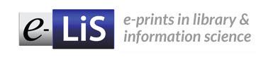 e-LIS, repositorio especializado en bibliotecología y ciencias de la información